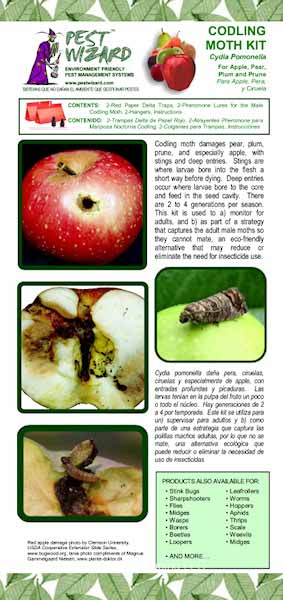 Codling Moth Trap Kit for Apple